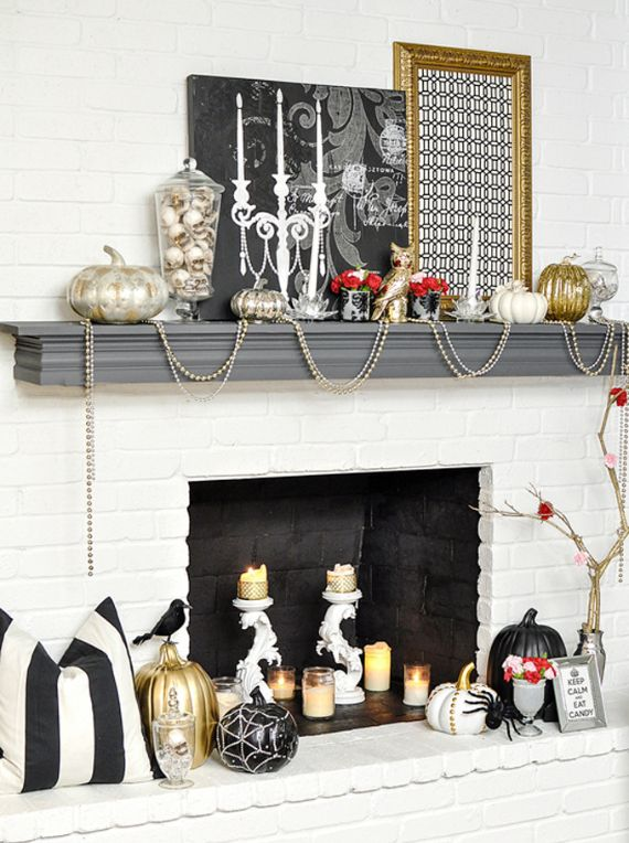 Elegant Gothic, Ghastly & Gory Halloween Decorations (4)