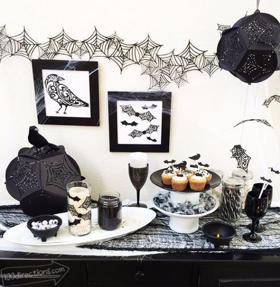 Elegant Gothic, Ghastly & Gory Halloween Decorations
