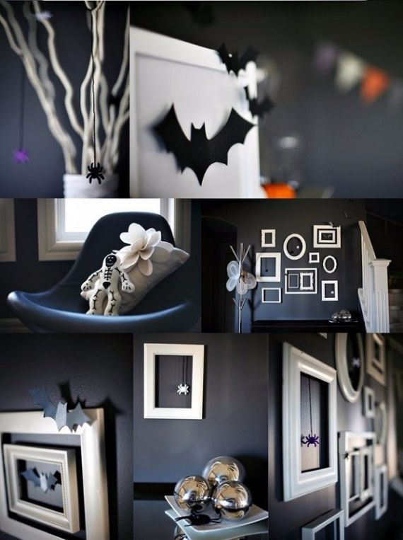 Modern Interior Halloween Decorations Ideas Using New Trends (1)