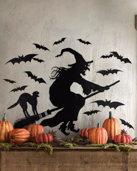 Modern Interior Halloween Decorations Ideas Using New Trends (13)