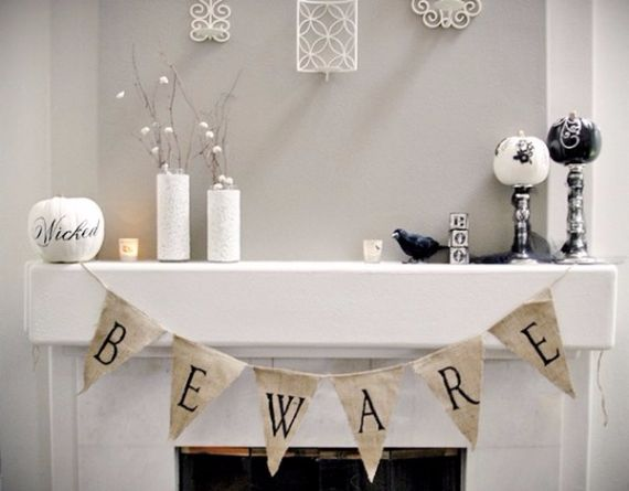 Modern Interior Halloween Decorations Ideas Using New Trends (16)
