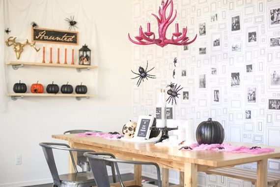Modern Interior Halloween Decorations Ideas Using New Trends (3)
