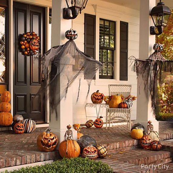Modern Interior Halloween Decorations Ideas Using New Trends (6)