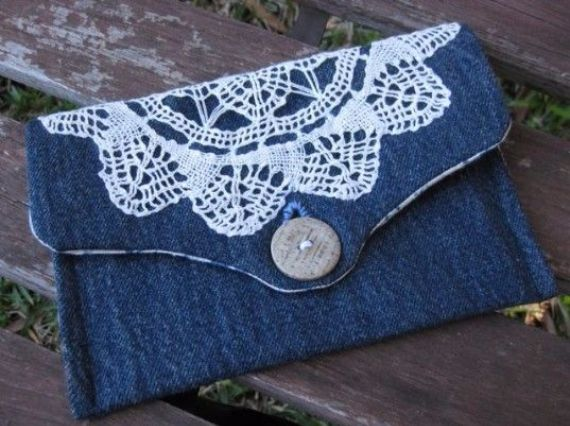 Clever Handmade Projects Ideas from Old Jeans