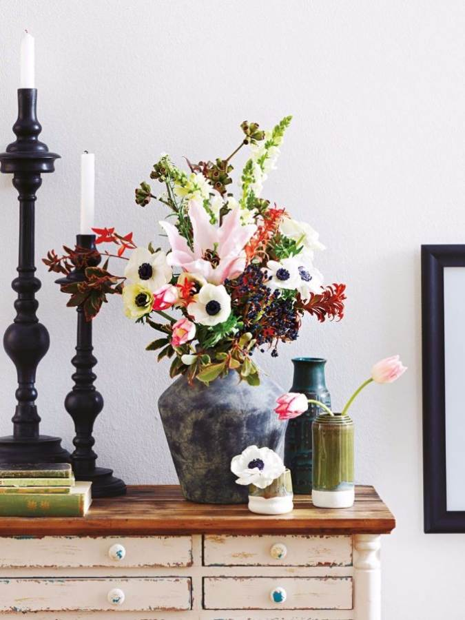 Bright And Easy Spring Flower Arrangement Ideas For Home D Cor 2