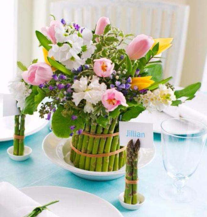 Marvelous Bright And Easy Spring Flower Arrangement Ideas For Home D_رcor (5)