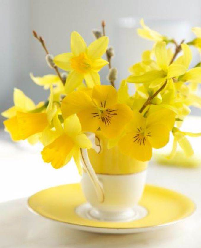 Bright and Easy Spring flower arrangement Ideas for Home D_رcor (8)