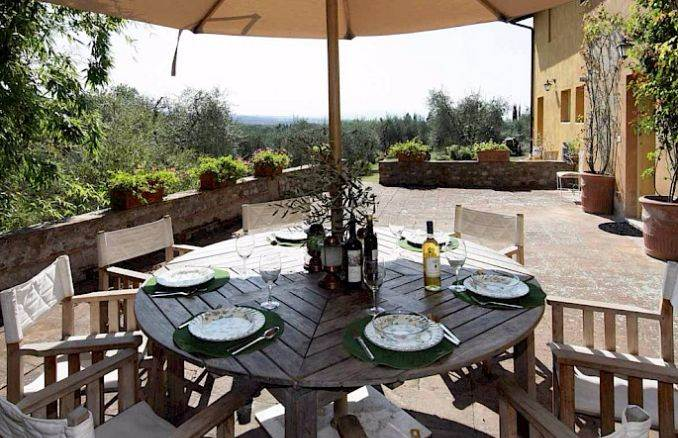 Canneto; Classic-Style Holiday villa In Siena Area (11)