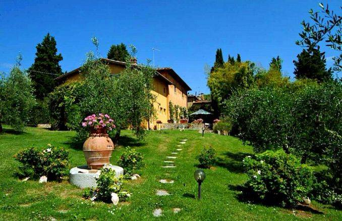 Canneto; Classic-Style Holiday villa In Siena Area (3)
