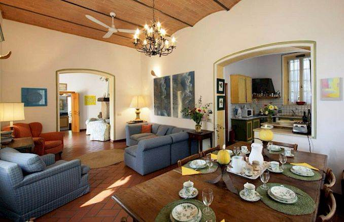 Canneto; Classic-Style Holiday villa In Siena Area (9)