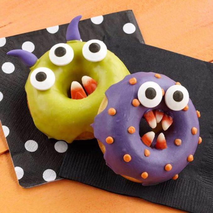 Easy Halloween Donut Treats (30)