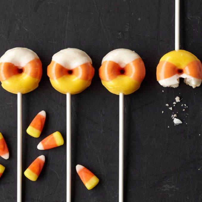 Easy Halloween Donut Treats (45)