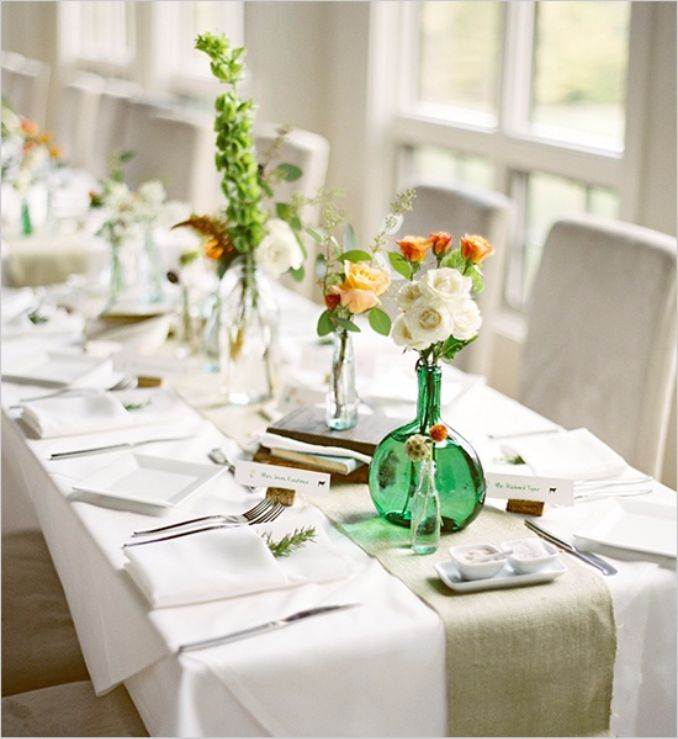 stylish-spring-table-settings-26 & 50 Stylish And Inspiring Flower Arrangement Centerpieces and Table ...