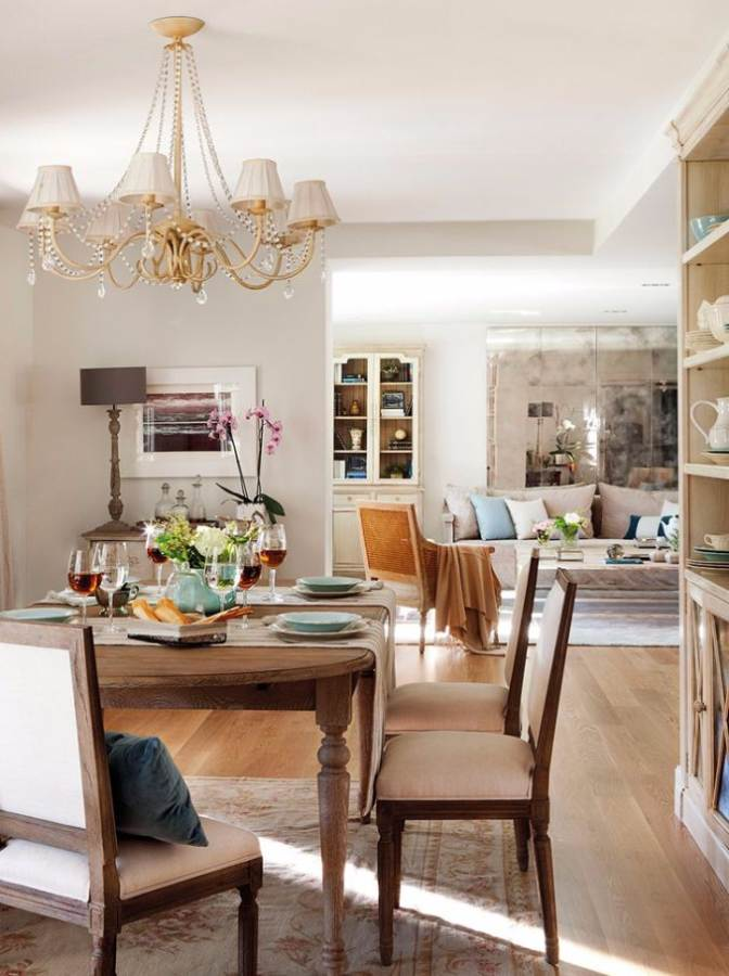Bright Interior Country House For Family Holidays (11)