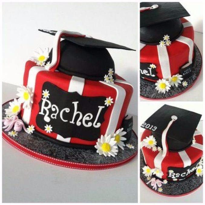 Simple Cake Designs For Graduation : 25 Simple but Creative Graduation Cakes and Cupcakes ...