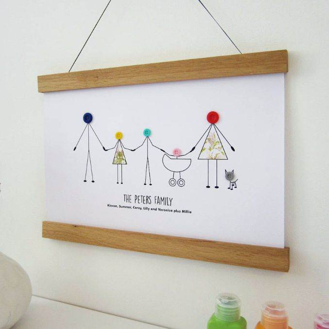 Diy Frames Easy Craft Family