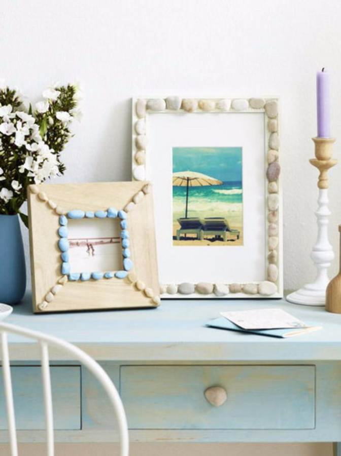 Easy DIY Photo and Picture Frame Decorating Crafts (18)