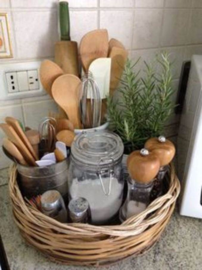 Great DIY Kitchen Utensil Storage & Organization Ideas (10)