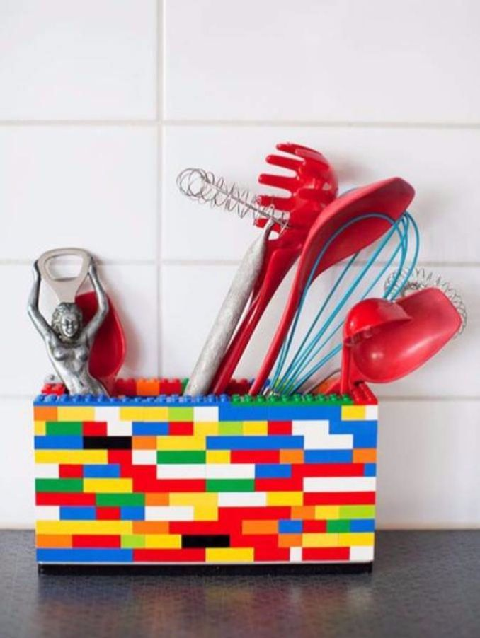 Great DIY Kitchen Utensil Storage & Organization Ideas (11)