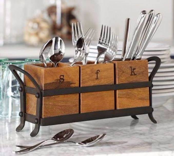 Great DIY Kitchen Utensil Storage & Organization Ideas (12)