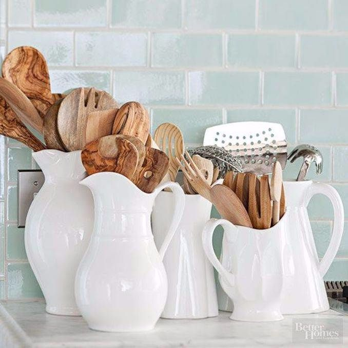 Great DIY Kitchen Utensil Storage & Organization Ideas (17)