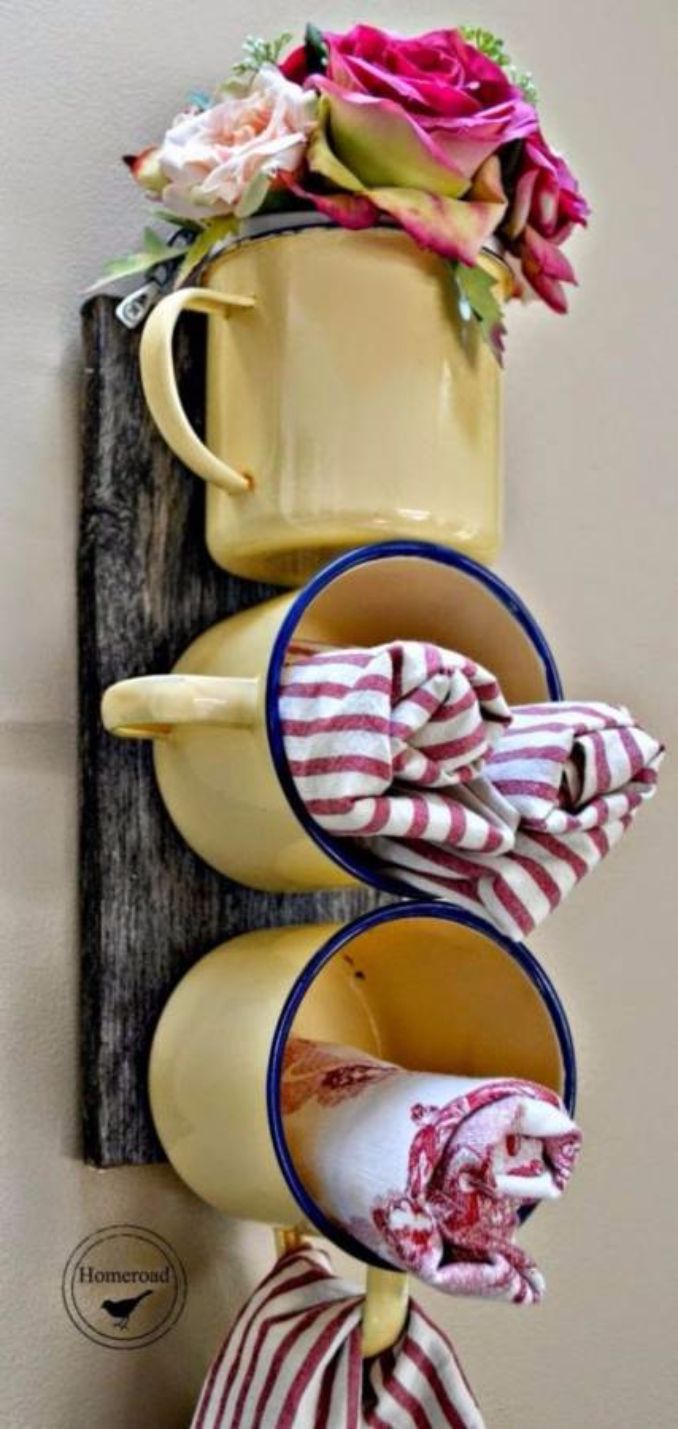Great DIY Kitchen Utensil Storage & Organization Ideas (2)