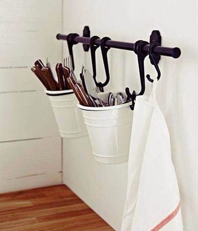 Great DIY Kitchen Utensil Storage & Organization Ideas (7)