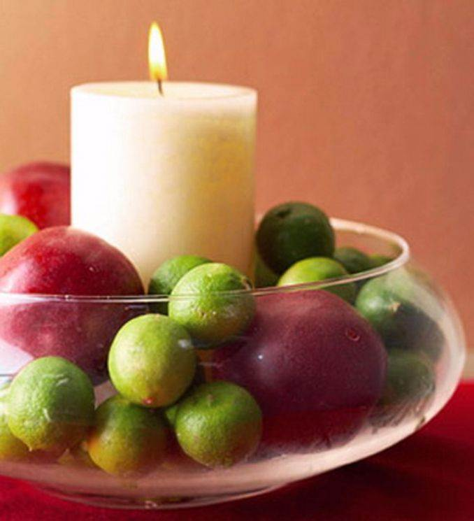 Holiday Romance In Miniature Summer Candle Centerpiece Ideas (11)