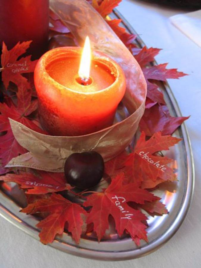 Holiday Romance In Miniature Summer Candle Centerpiece Ideas (13)