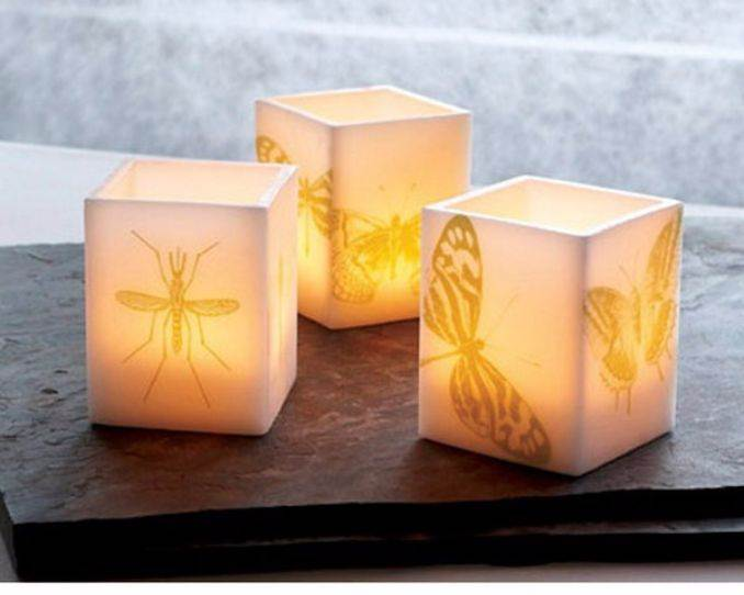 Holiday Romance In Miniature Summer Candle Centerpiece Ideas (5)