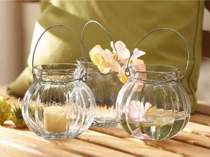 Holiday Romance In Miniature Summer Candle Centerpiece Ideas (6)