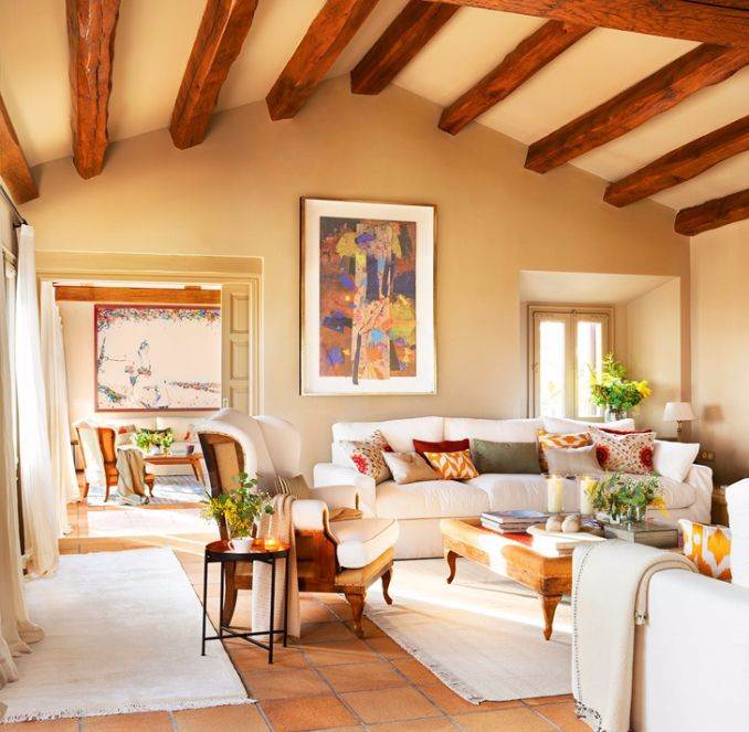 Ideal vacation home in a rustic style (3)