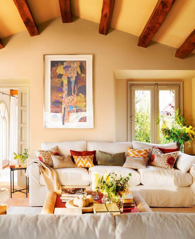 Ideal vacation home in a rustic style (4)