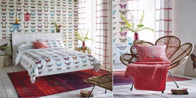 2-Harlequin-bedding-Amazilia-collection-Papilio-bedding-spring-summer-2016-luxurious-bedding-logan-berry-flamingo-butterfly-bedding-amazilia-rug-Amazilia-cushion