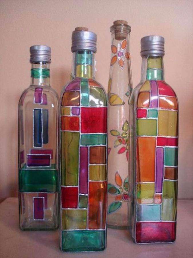 DIY Creative Ideas of How To Recycle Old Bottles (68)