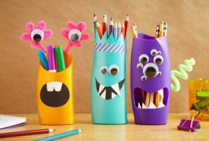 DIY pencil holder ideas for your home desk decoration         (27)
