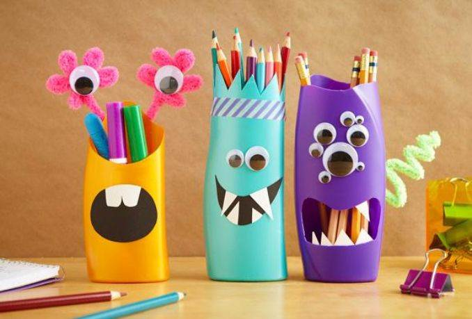Superb DIY Pencil Holder Ideas For Your Home Desk Decoration (27) Photo Gallery