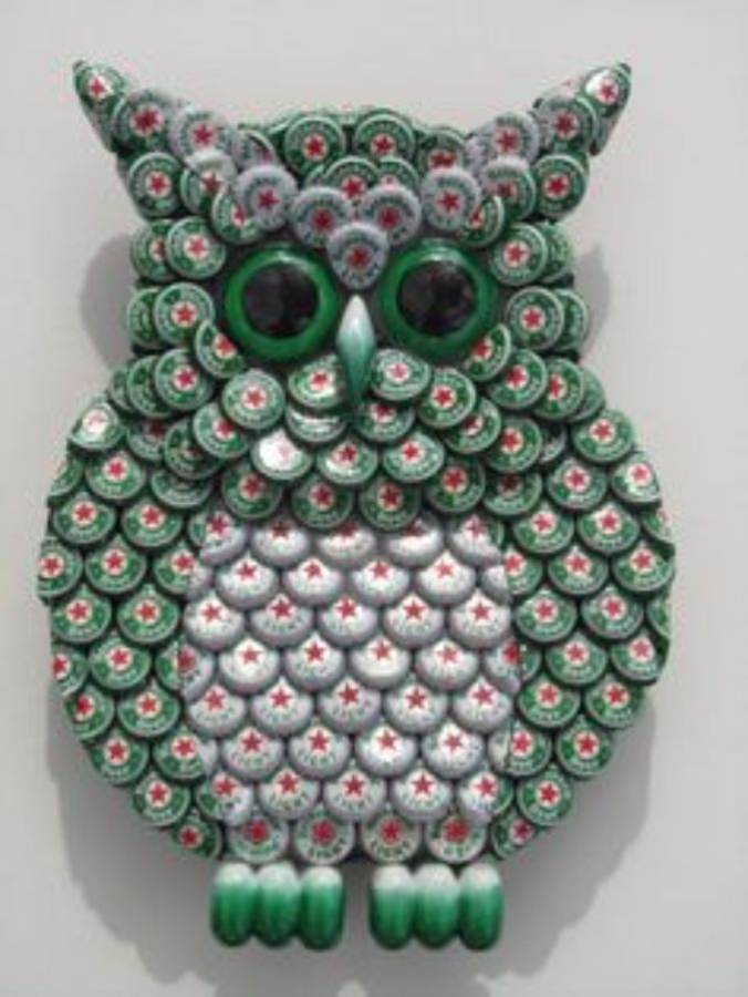 55 creative bottle cap craft ideas diy recycle projects for Recycle project ideas