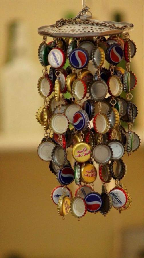 Creative Bottle Cap Craft Ideas (DIY Recycle Projects) (11)