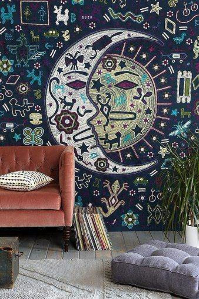 How to Turn a Rug Into a Wall Art Tapestry (3)