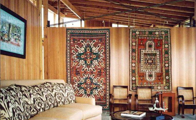 How to Turn a Rug Into a Wall Art Tapestry (4)