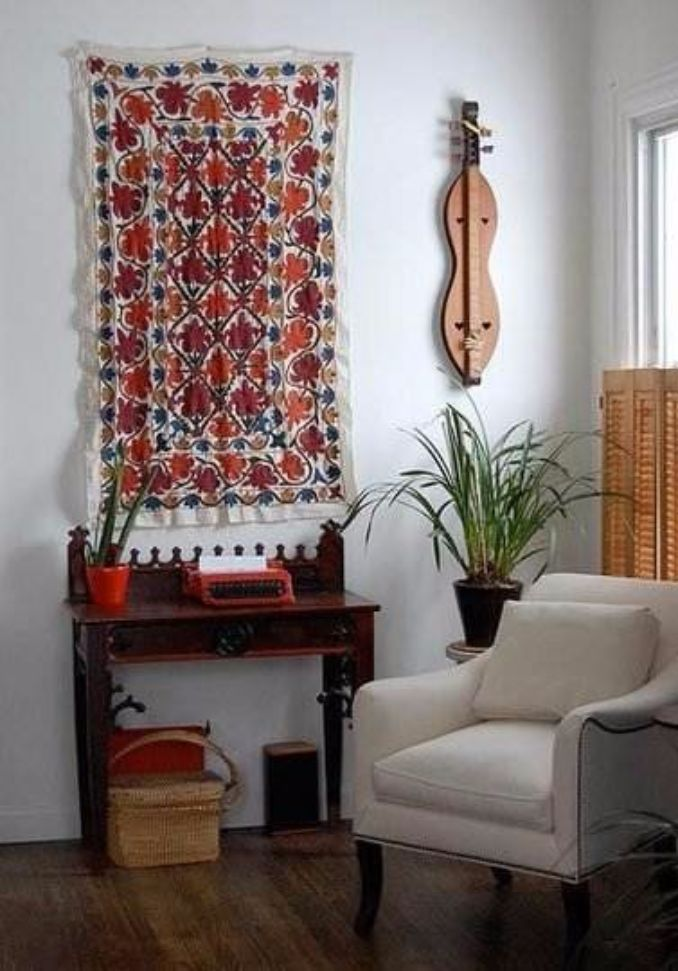 How To Turn A Rug Into A Wall Art Tapestry Family