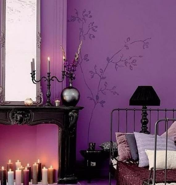 Spooky Bedroom Decor With Subtle Halloween Atmosphere_08