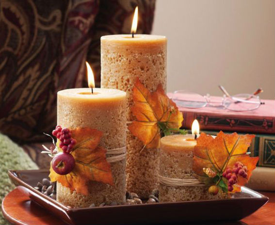 The Candle Centerpiece;