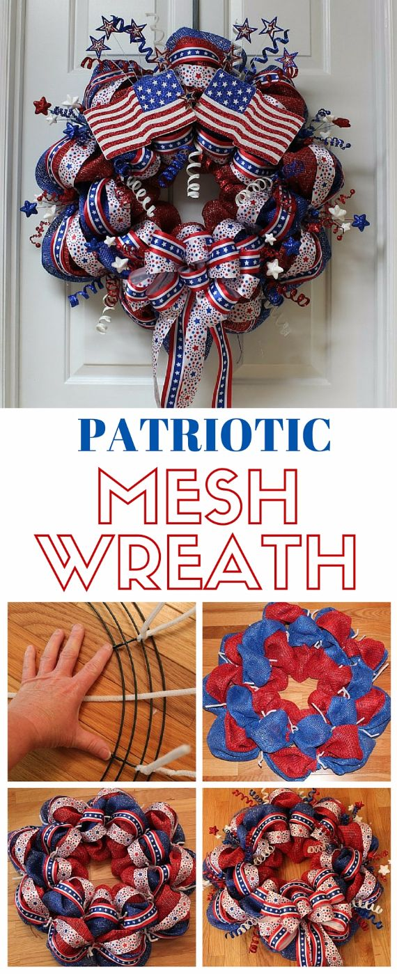 Wreath USA 4th of July Day and Other Patriotic Door Decorations ...