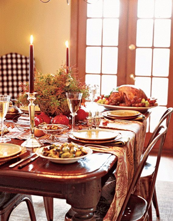 Tremendous Elegant And Easy Thanksgiving Table Decorations Ideas Download Free Architecture Designs Sospemadebymaigaardcom
