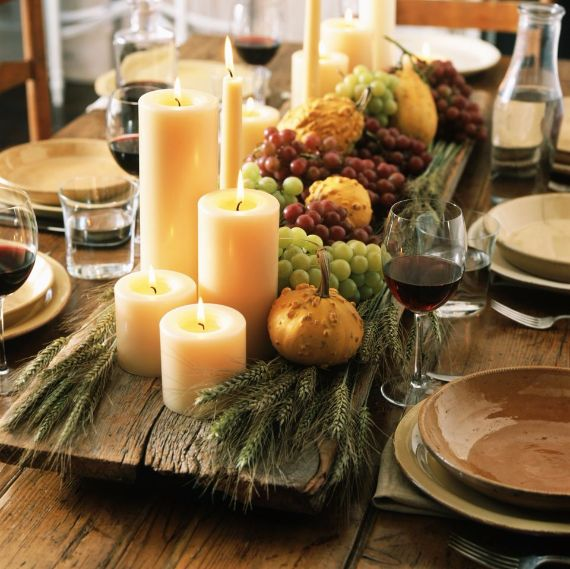 Elegant And Easy Thanksgiving Table Decorations Ideas Family - Table decorating ideas for thanksgiving
