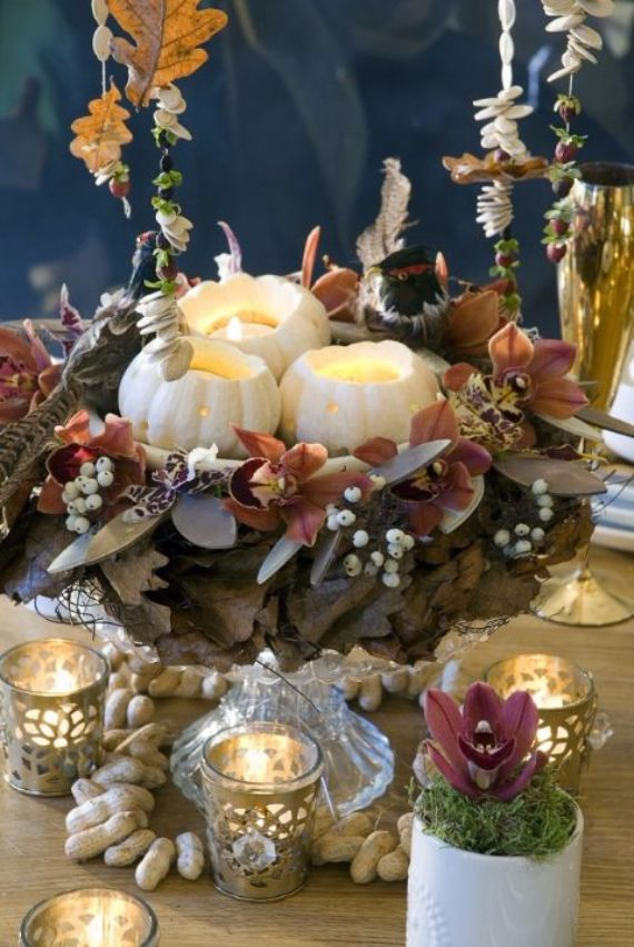 Elegant And Easy Thanksgiving Table Decorations Ideas Family Holidaynetguide To
