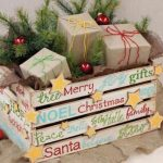 RECYCLED Christmas Decorations -DIY WOODEN BOXES