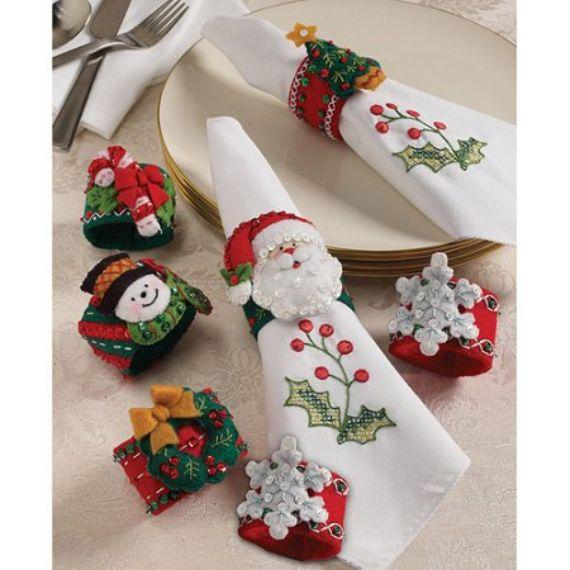 Homemade christmas napkin ring ideas family holidayguide to source solutioingenieria Images